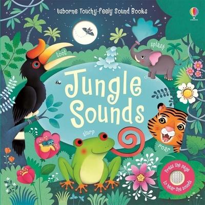 Touchy-Feely Sound Books:Jungle Sounds 叢林聲音觸摸音效書
