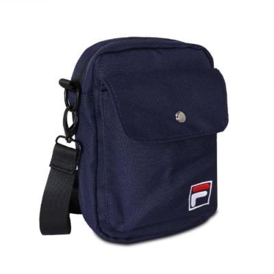 Fila 斜背包 Crossbody Shoulder Bag 斐樂 外出 小包 穿搭 背帶可調 輕便 藍 白 BMV3014NV