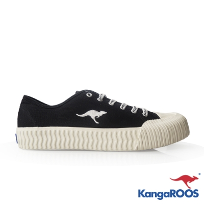 KangaROOS 女 CRUST 甜點餅乾鞋(黑)