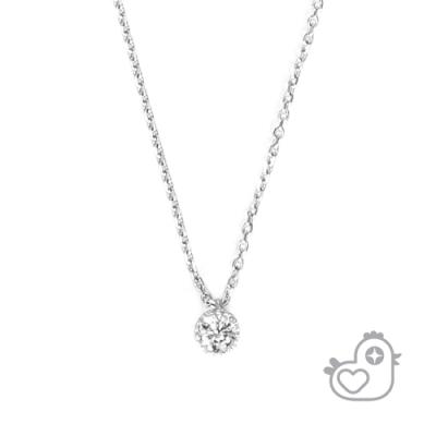 彩糖貝貝925純銀 鋯石項鍊 項鍊 親子& 閨蜜 細緻系列