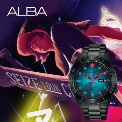 ALBA 雅柏 廣告款東京霓虹機械錶(AL4175X1/Y676-X035SD)-42mm