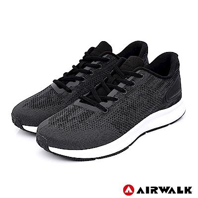 AIRWALK - 城市驛動編織鞋-男款-黑色
