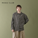 【MOSS CLUB】MIT台灣製 學院文青風-襯衫(二色)