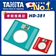 日本TANITA 大螢幕超薄電子體重計HD-381-(綠/紅 二色選1)-台灣公司貨 product thumbnail 1