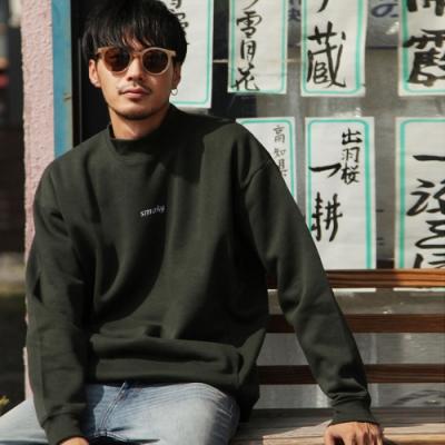 大學TEE長袖上衣素面運動衫(12色) -ZIP日本男裝