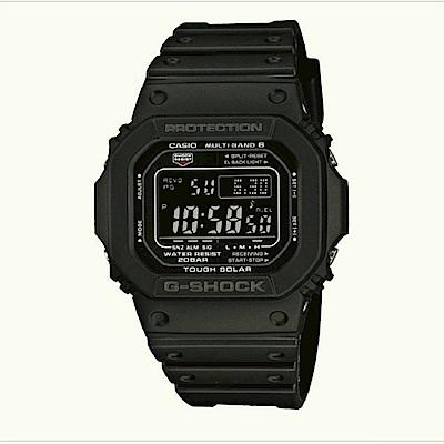 G-SHOCK 經典款原型5600進化版電波錶(GW-M5610-1B)