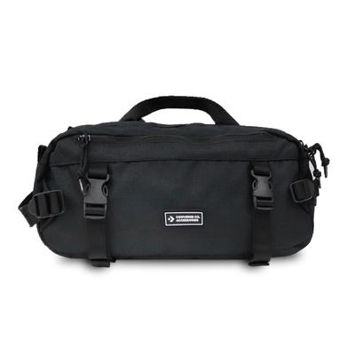 Converse 斜背包 Utility Sling Bag 男女款 腰包 外出方便 穿搭 可調式背帶 黑 白 10022101A01