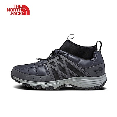 The North Face北面男款黑色保暖休閒鞋|331I5QN