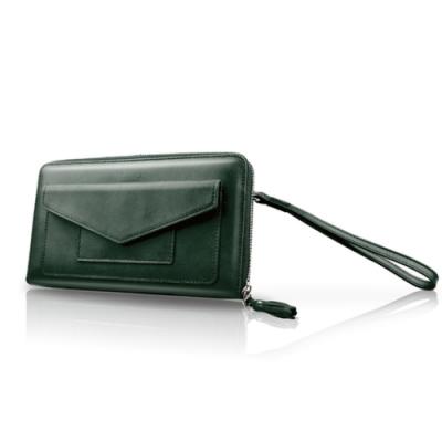 LIEVO-旅行手機皮夾_墨玉綠(5.7吋螢幕以下手機皆適用)
