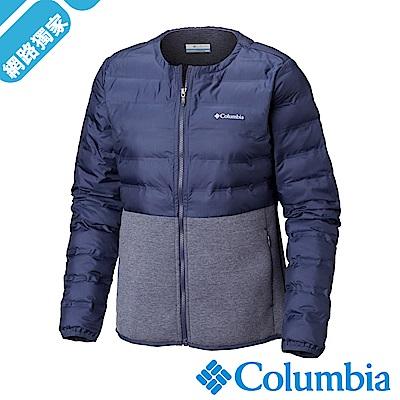 Columbia哥倫比亞 女款-Omni-Shield 防潑快排外套-深藍