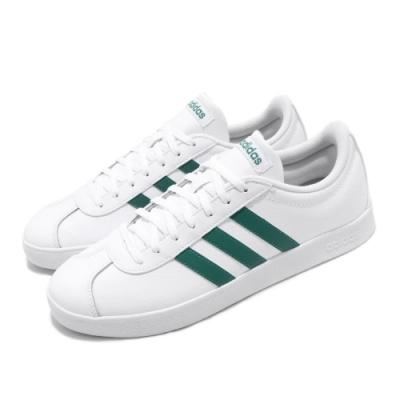 adidas 滑板鞋 VL Court 2.0 運動休閒 男鞋