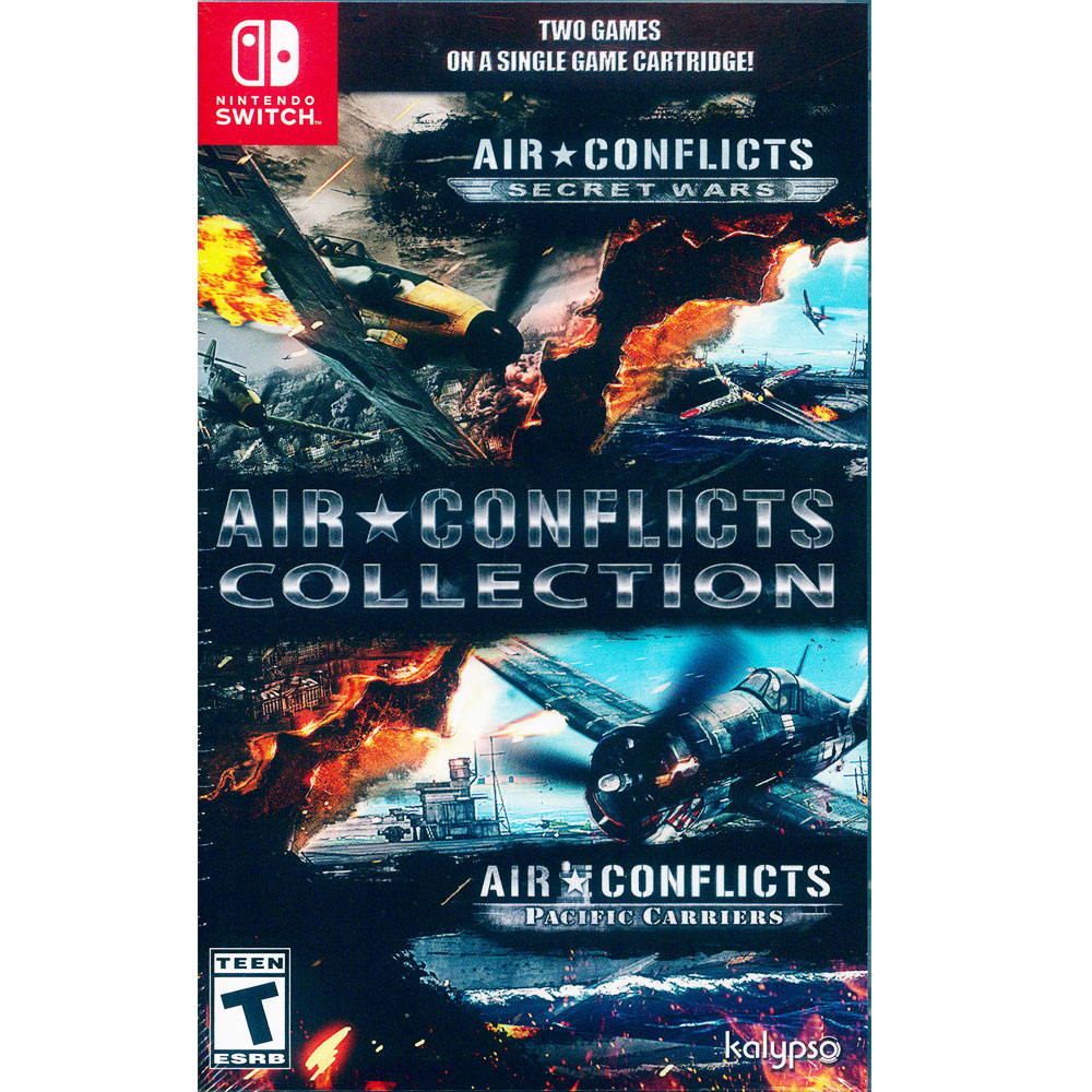 藍天對決 合輯 Air Conflicts - NS Switch 英文美版