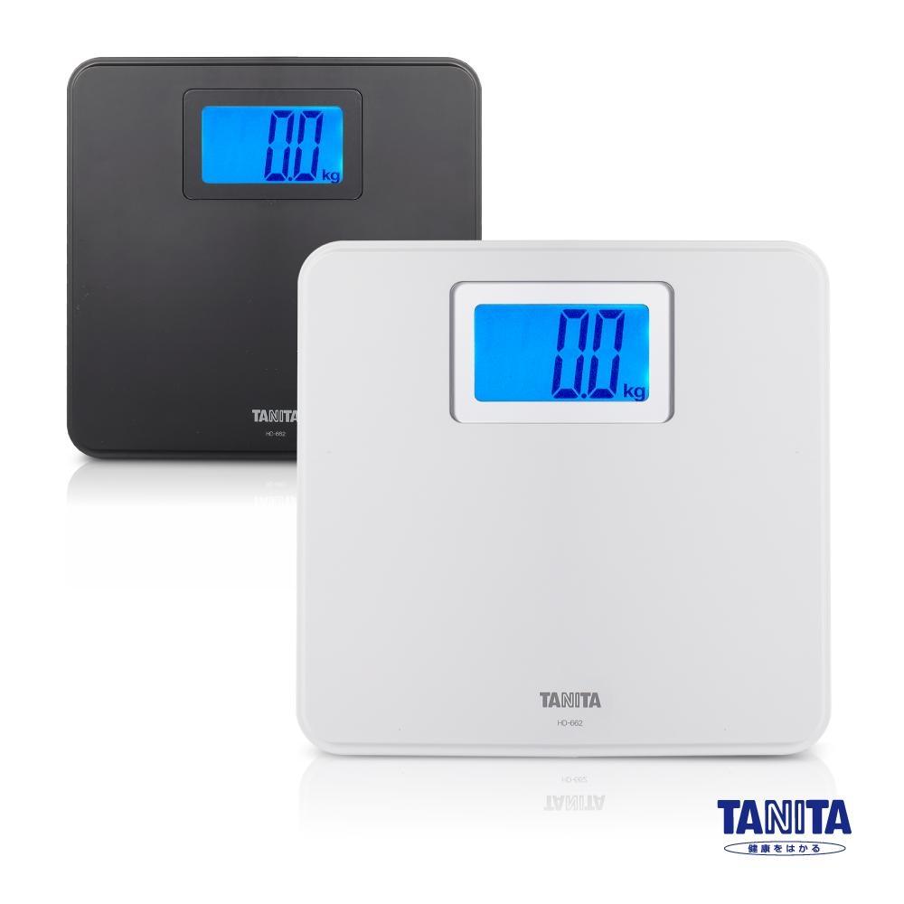 日本TANITA 簡約風格全自動電子體重計HD-662