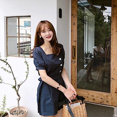 【AIRKOREA】韓風簡約套裝-兩件組