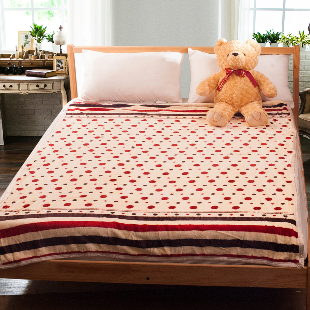 Carolan 點點   法萊絨四季毯(150x200cm) @ Y!購物