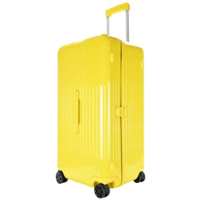 RIMOWA ESSENTIAL Trunk Plus 31吋大型運動旅行箱(檸檬黃)