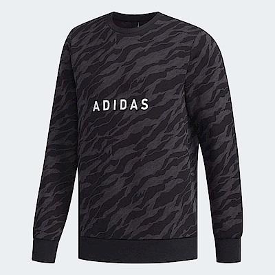 adidas 大學T Graphic Camo 休閒 男款