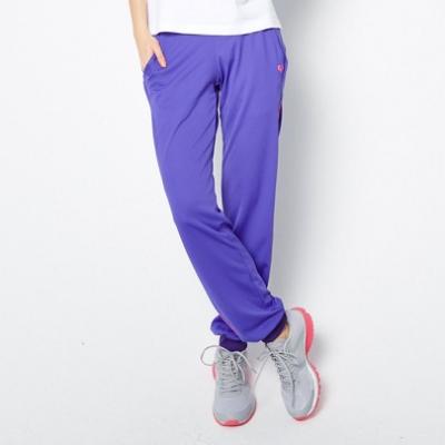 【FIVE UP】極顯瘦舒適吸排針織長褲-紫色