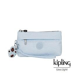 Kipling 棉花糖藍手拿配件包-NIYLAH