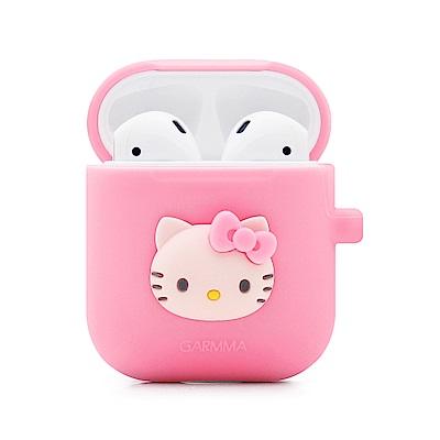 GARMMA Hello Kitty AirPods 藍芽耳機盒保護套 粉