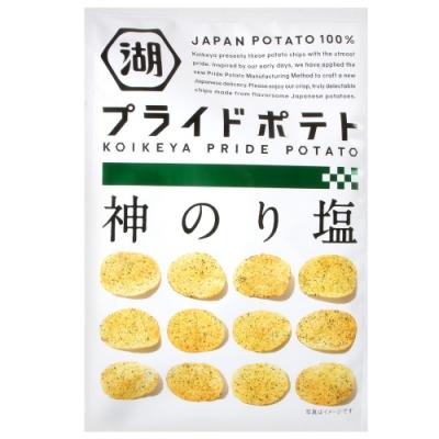 湖池屋 PRIDE POTATO海苔鹽味薯片(58g)