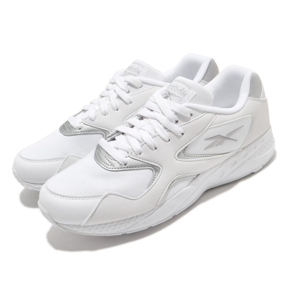 Reebok 休閒鞋 Torch Hex 運動 男鞋 海外限定 舒適 避震 球鞋 穿搭 白 銀 EF3182