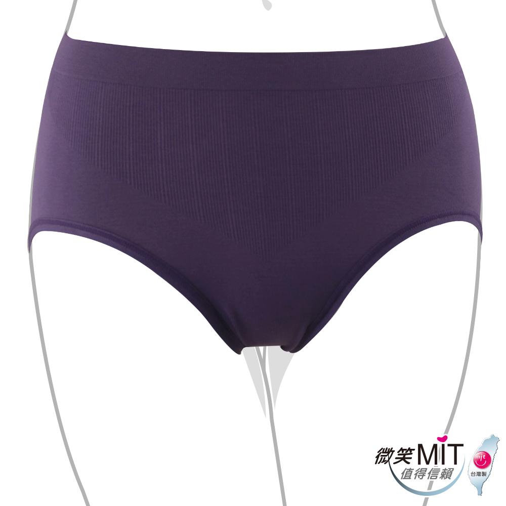 推EASY SHOP-iMEWE 高腰三角褲(深紫色)
