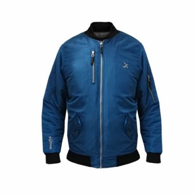 EGXtech 女款經典飛行保暖夾克BJ-MA1W(丈青)