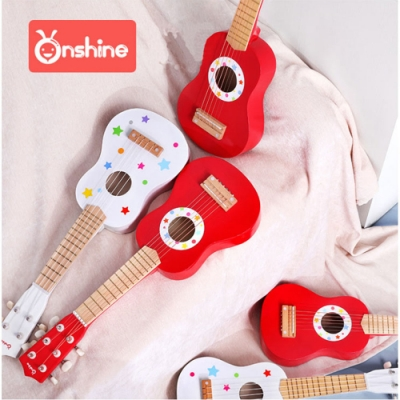 經典木玩 兒童樂器烏克麗麗/吉他玩具(兒童樂器)(36m+)