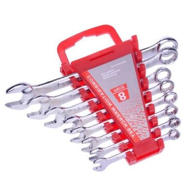 HU003 超值工具組 梅花開口板手組8支組
