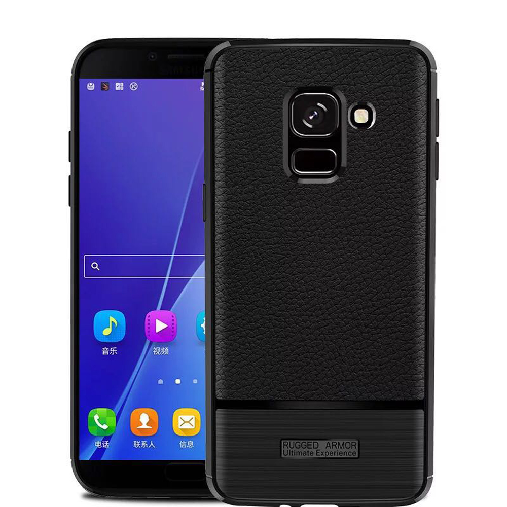 IN7 荔枝紋系列 Samsung J6 2018 5.6吋 硅膠TPU保護殼