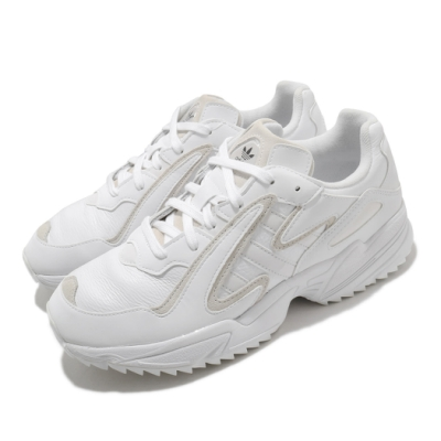 adidas 休閒 Yung 96 Chasm Trail 男鞋 海外限定 愛迪達 皮革 穿搭 白 米 EF8976