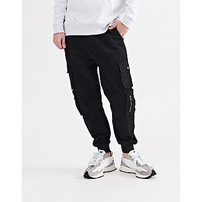 NAVY-斜紋多袋工褲(二色)-情侶款-男【A1NA055】