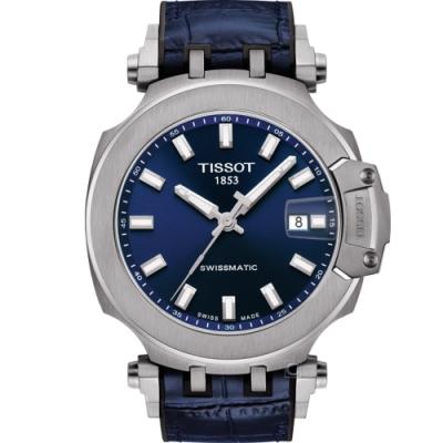 TISSOT天梭T-RACE競速時尚機械錶(T1154071704100)