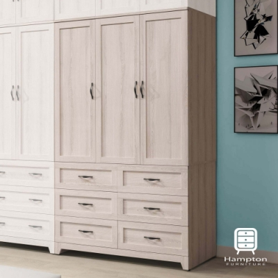 漢妮Hampton珍尼絲4尺衣櫥-120x58x200cm