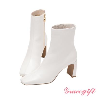 Grace gift-美戰變身器造型跟短靴 白