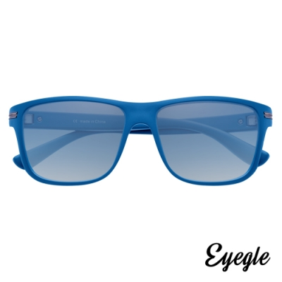 eyegle FRANK 自由系列 休閒時尚墨鏡 - 蔚藍