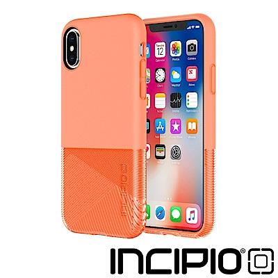 Incipio iPhoneX/iPhoneXS 幻色躍動防摔系列保護殼-粉嫩橘