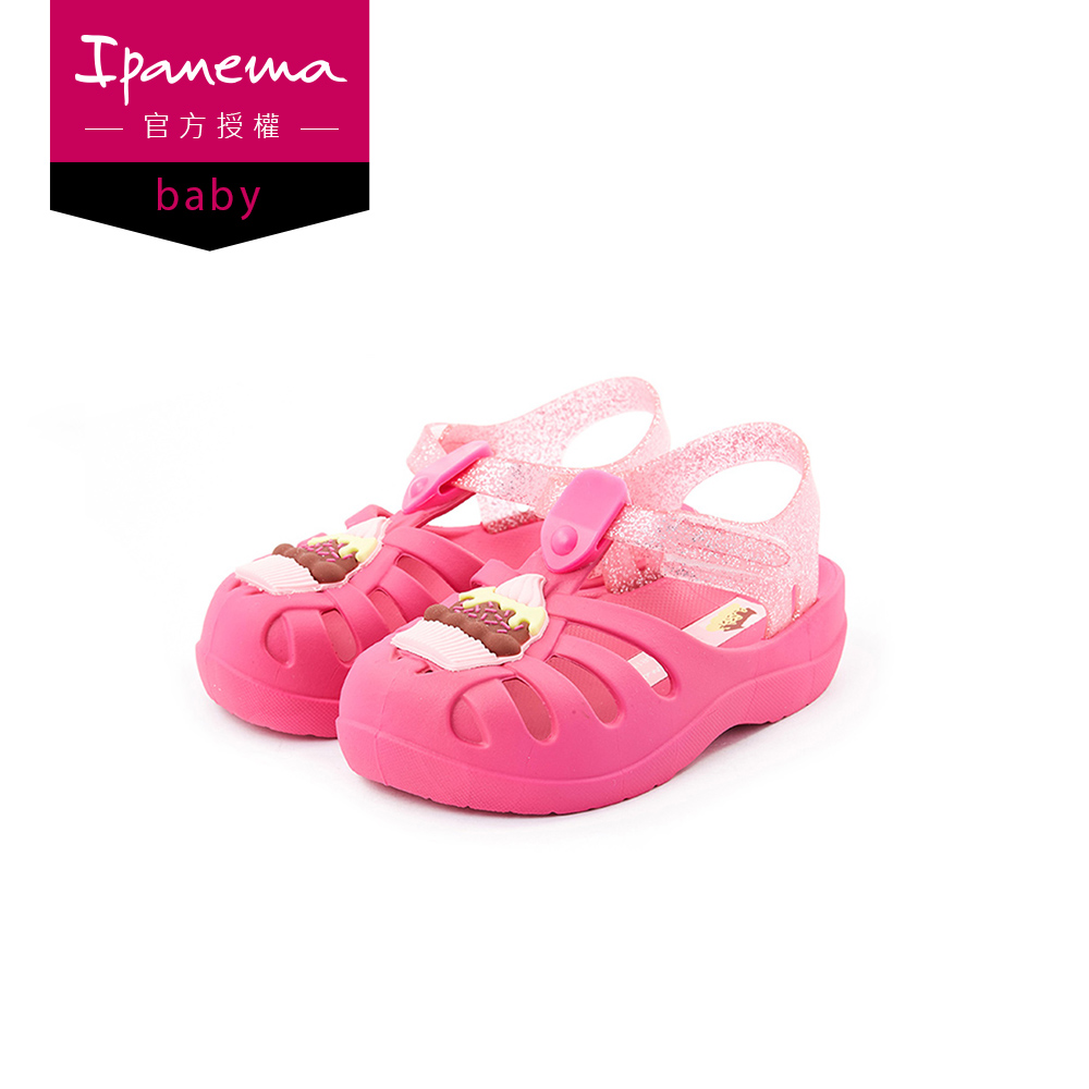 IPANEMA SUMMER V BABY系列 漁夫鞋(寶寶款)-桃紅