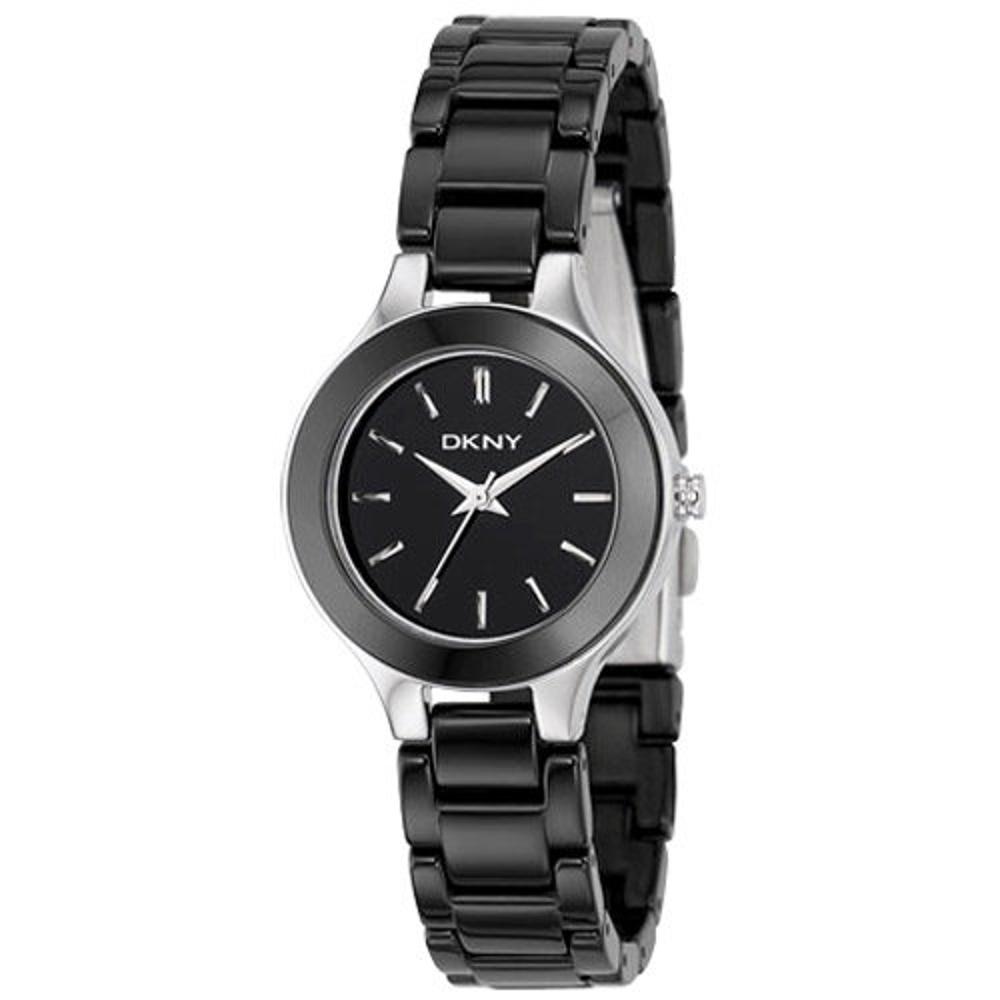 DKNY 陶瓷腕錶(NY4887)-黑/40mm