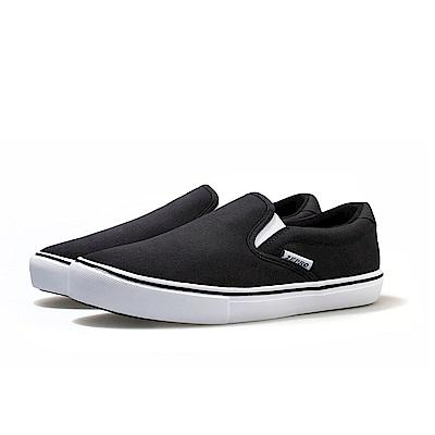 【ZEPRO】女子SLIP-ON系列輕便時尚休閒鞋-經典黑