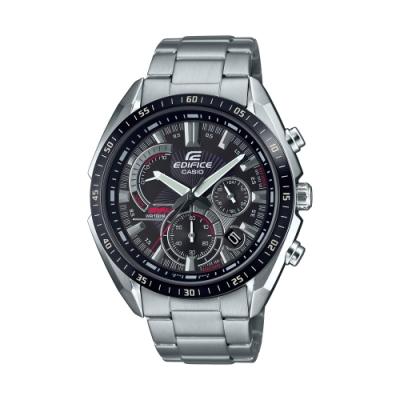 CASIO卡西歐 EDIFICE 三針三眼錶款 EFR-570DB-1A_44.6mm