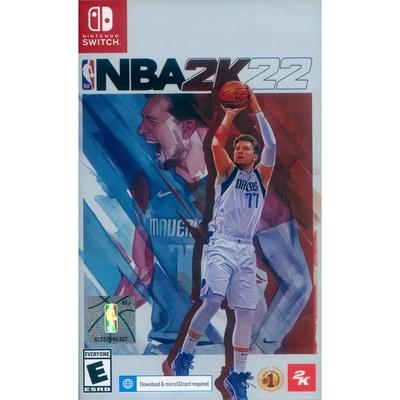 勁爆美國職籃 2K22 NBA 2K22 - NS Switch 中英文亞版(美版)