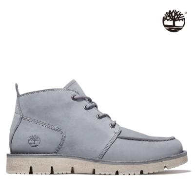Timberland 男款灰色Westmore磨砂革查卡靴 A41Z9