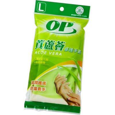 OP蘆薈修護手套-L