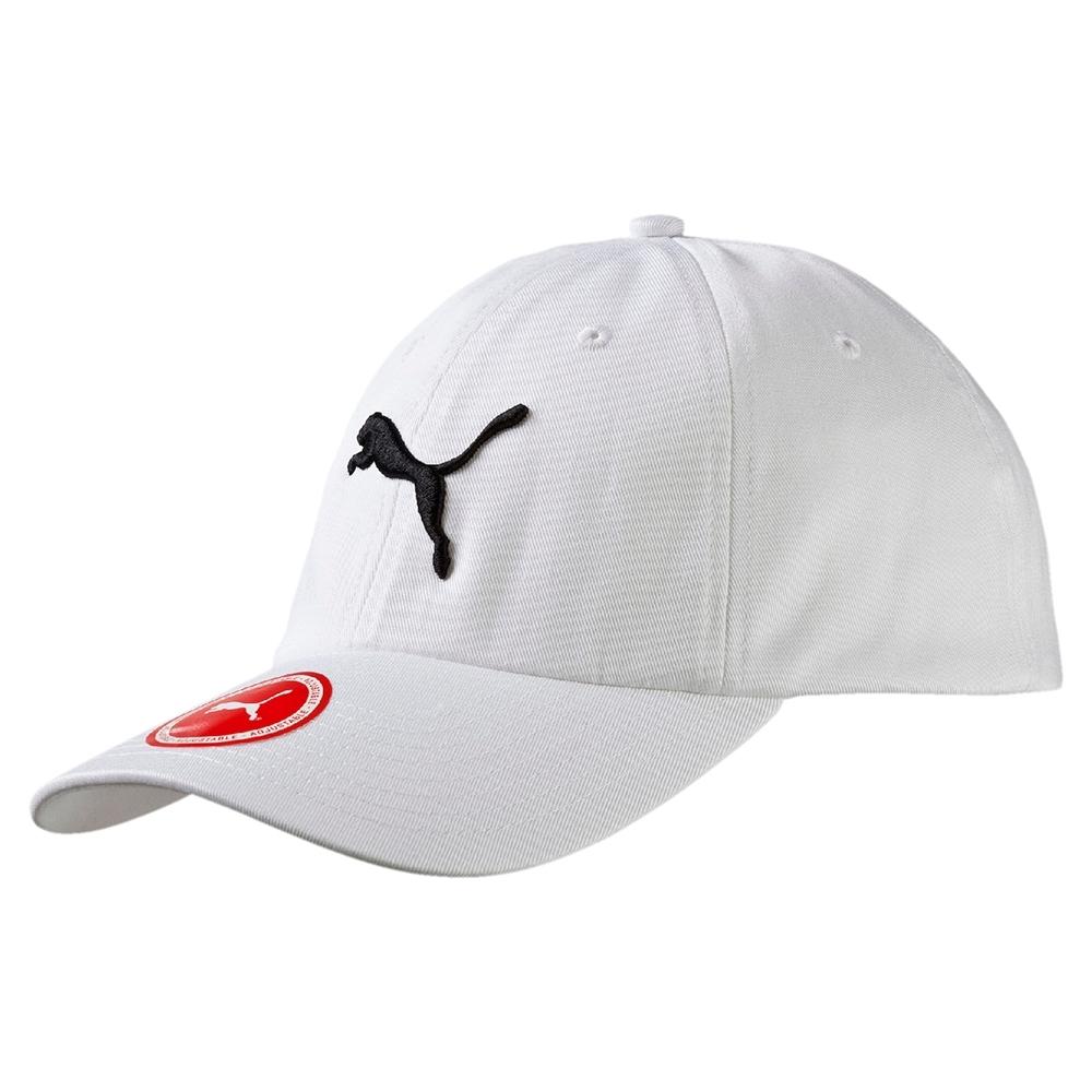 PUMA-男女基本系列棒球帽-白色