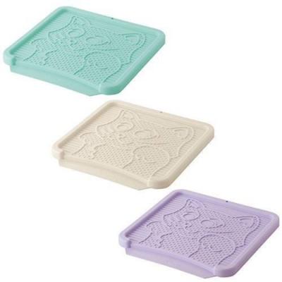 日本Richell利其爾-卡羅貓踏板 (米白色/淡藍色/紫色)