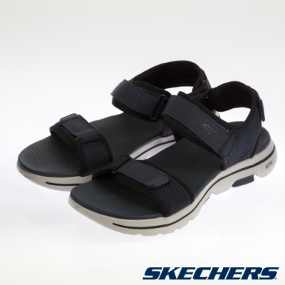 SKECHERS 男健走系列 涼拖鞋 ON THE GO GOWALK 5-229003NVBK
