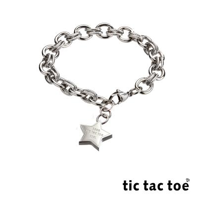 tic tac toe 白鋼手鍊 星星 TI-648-2-5