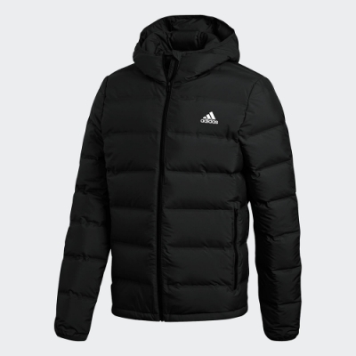 adidas 外套 羽絨外套 運動 保暖 男款 黑 BQ2001